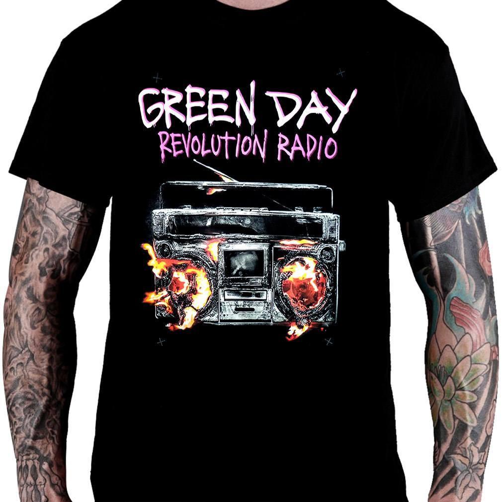 CamisetaGreen Day Revolution Radio - Consulado do Rock