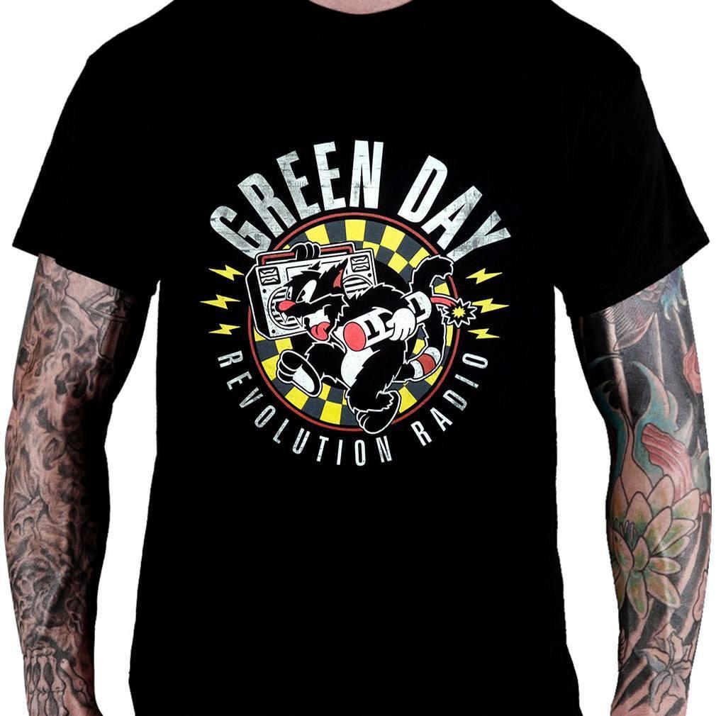 CamisetaGreen Day We Are Revolution Radio - Consulado do Rock