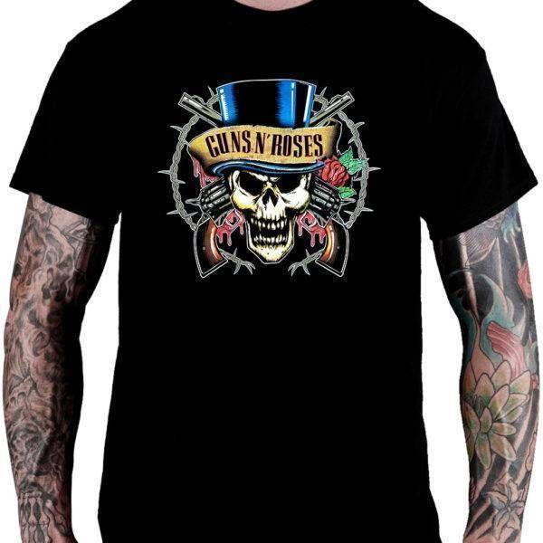 CamisetaGuns N' Roses Cartola - Consulado do Rock
