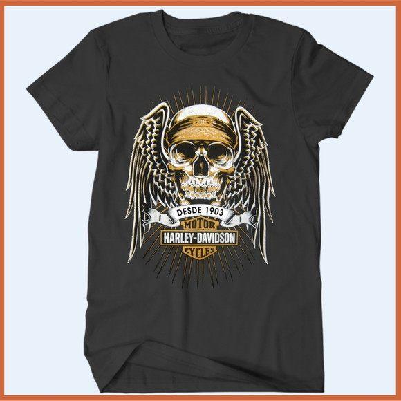 Camiseta Harley Davidson II - Camisetas Rápido