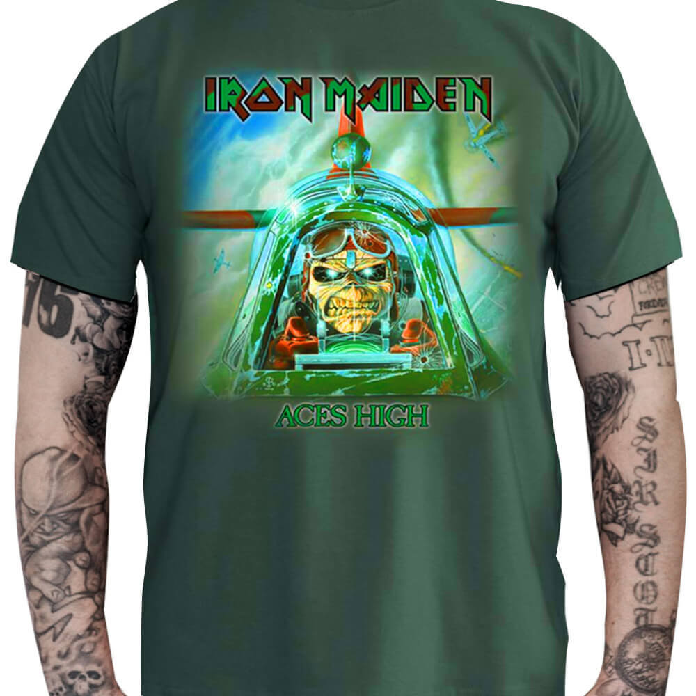 Camiseta IRON MAIDEN - Aces High