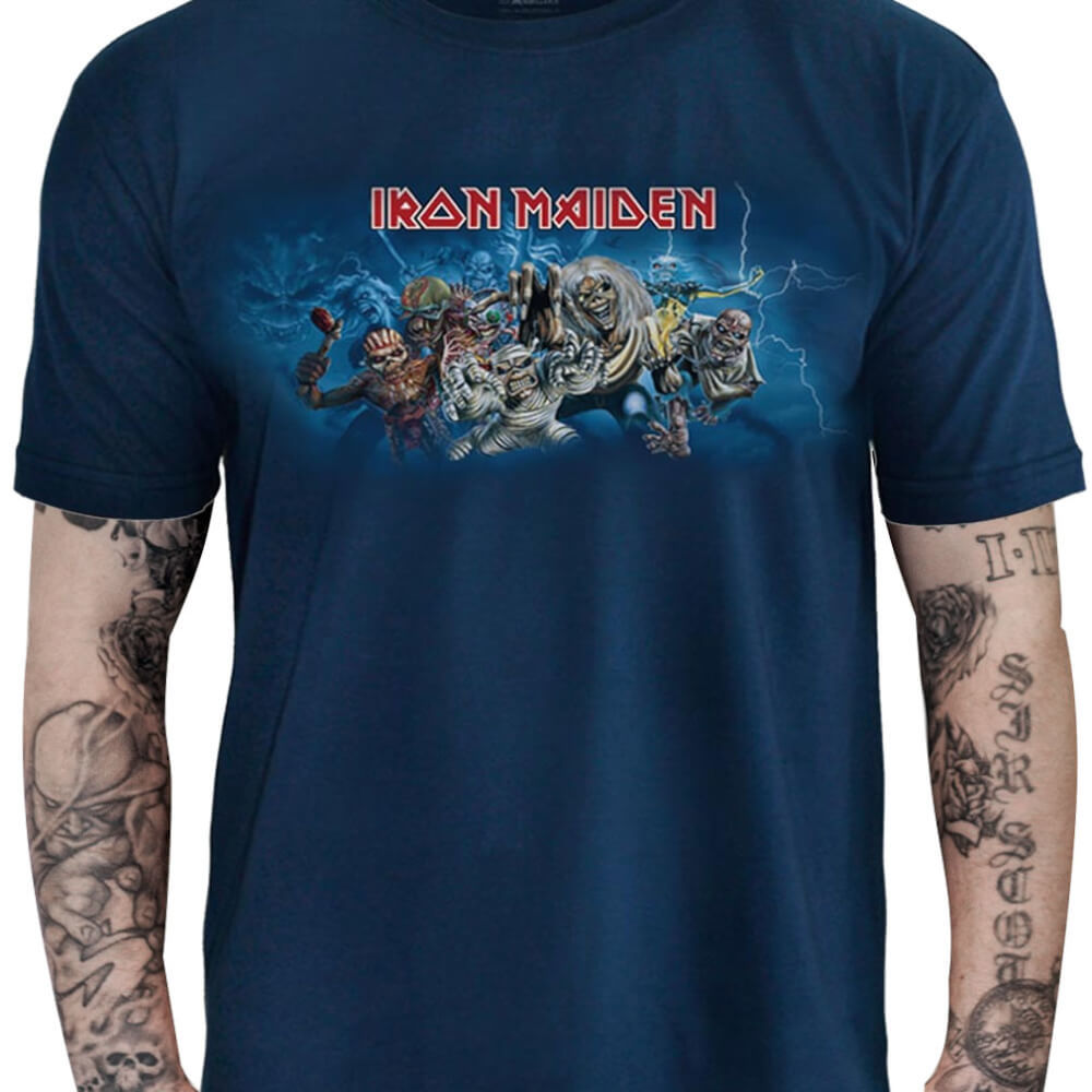 Camiseta IRON MAIDEN – Eddie