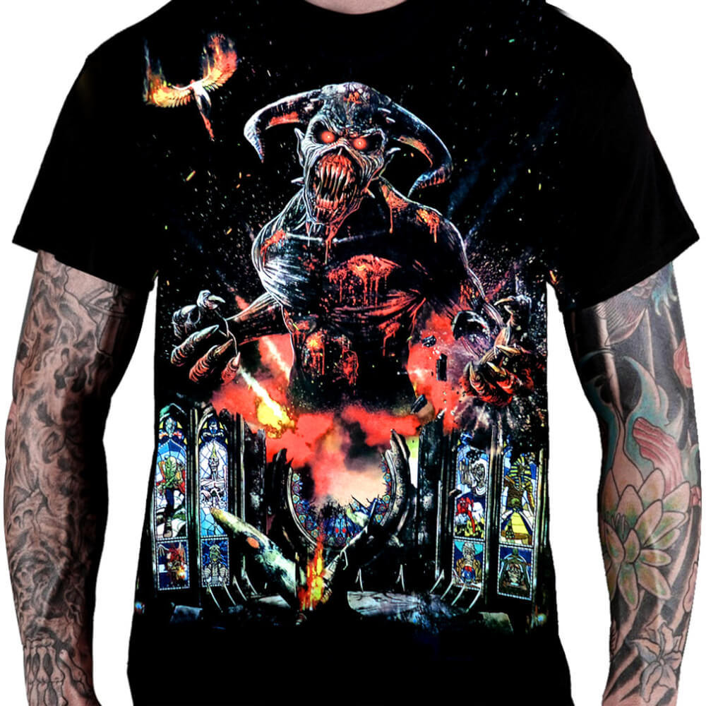 Camiseta IRON MAIDEN – Legacy of the Beast Tour