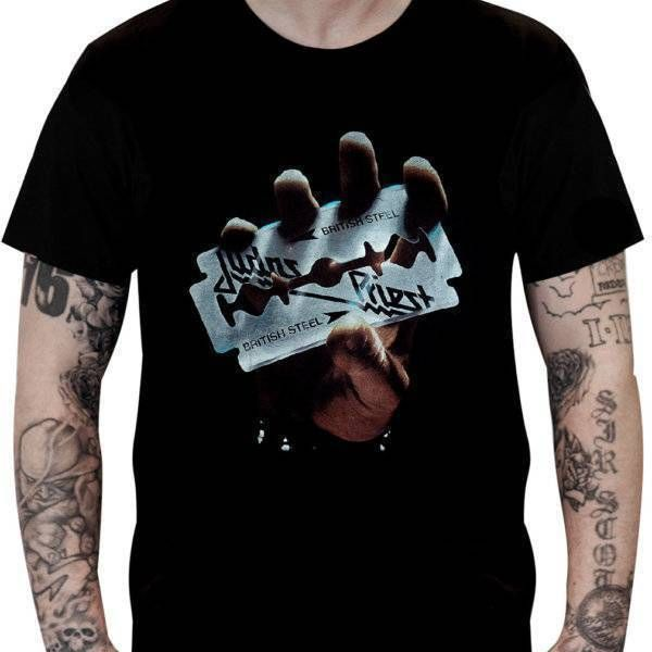 Camiseta Judas Priest – British Steel