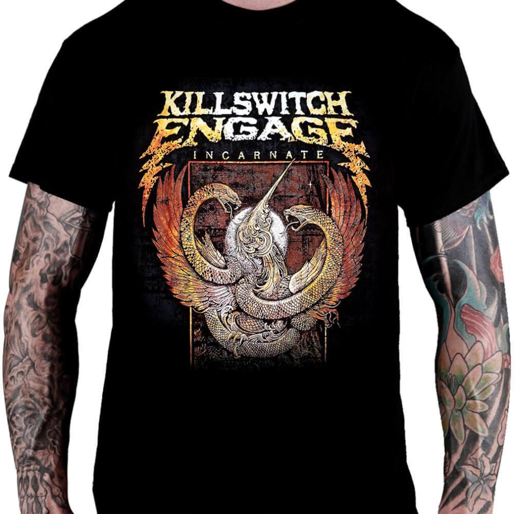 CamisetaKillswitch Engage Incarnate - Consulado do Rock