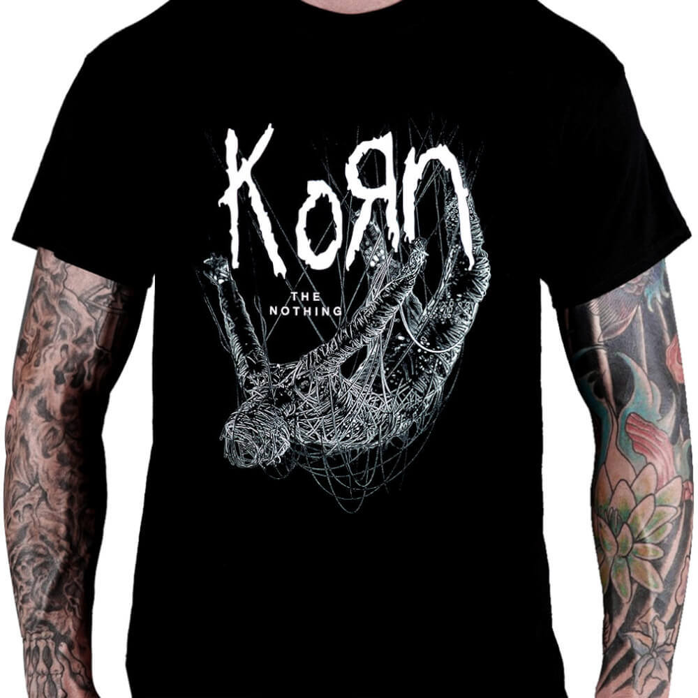 Camiseta KORN – The Nothing