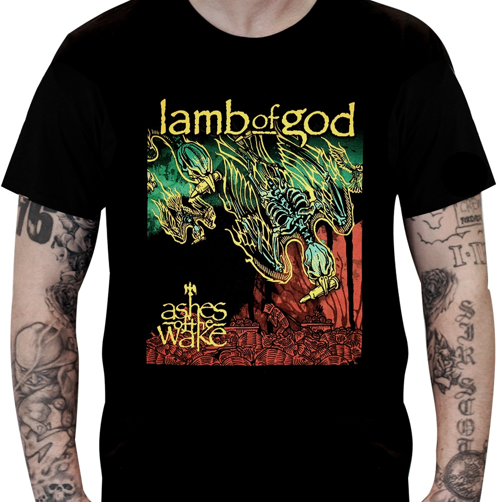 Camiseta LAMB OF GOD – Ashes of the Wake