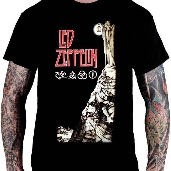 CamisetaLed Zeppelin – IV (Mago)