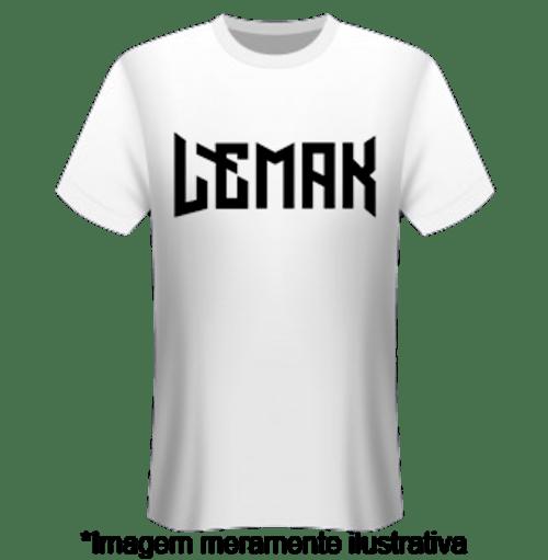 Camiseta Lemak - Banda Lemak - Merchandising Oficial