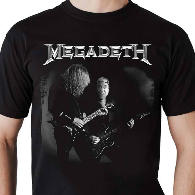 Camiseta masculina Megadeth KIKO
