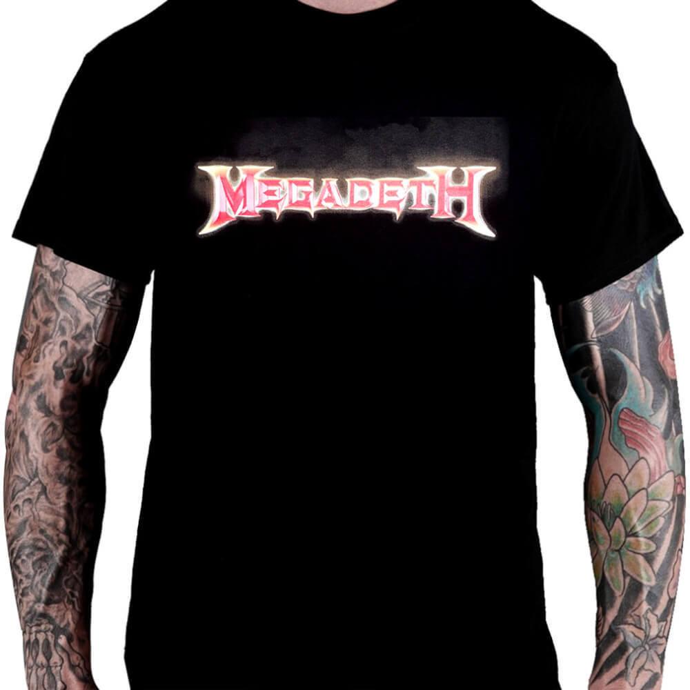 Camiseta Megadeth Dystopia Tour 2017 - Consulado do Rock