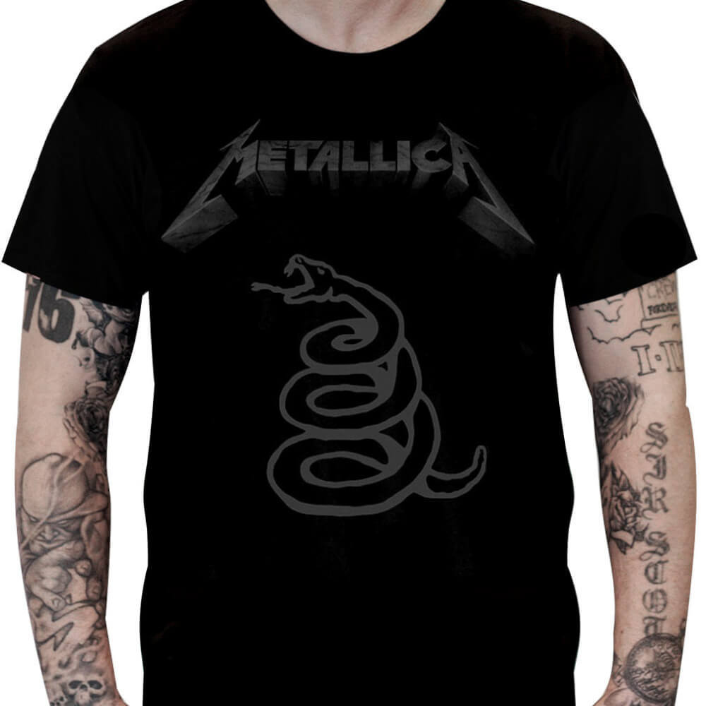 Camiseta METALLICA – Black Album