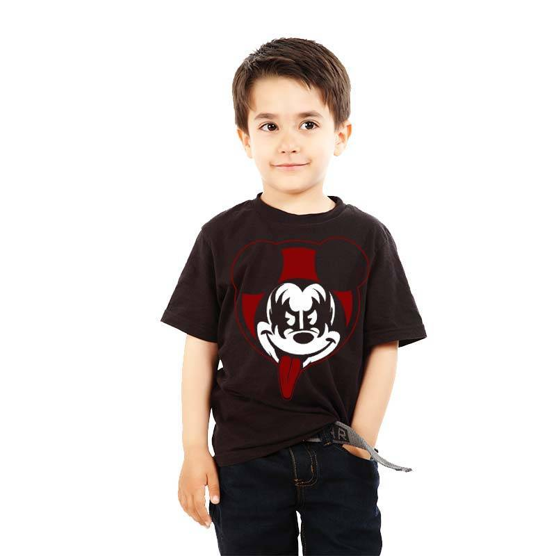 Camiseta infantil Mickey Kiss