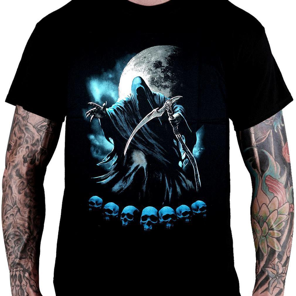 Camiseta Death / Moon - Consulado do Rock