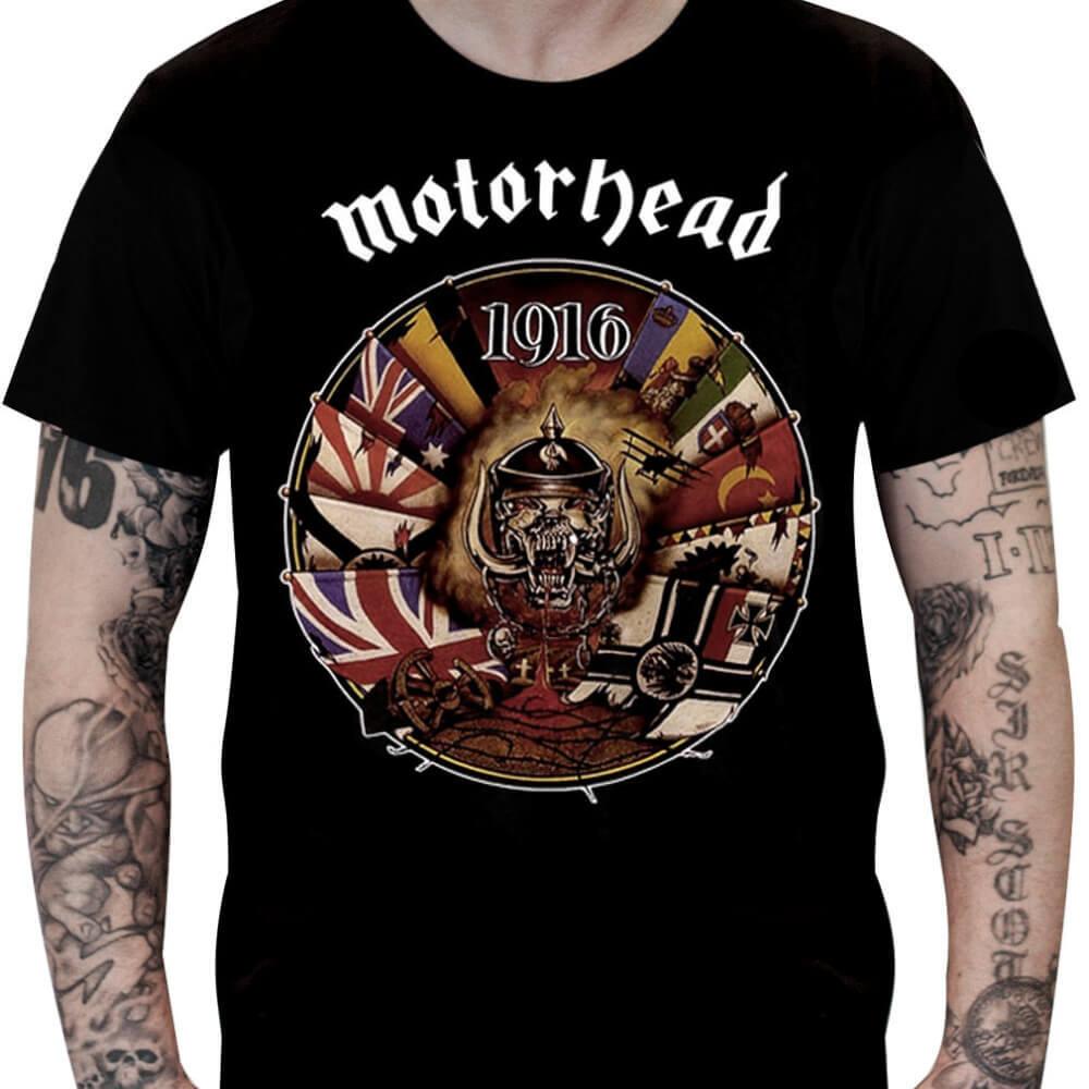 Camiseta MOTÖRHEAD – 1916