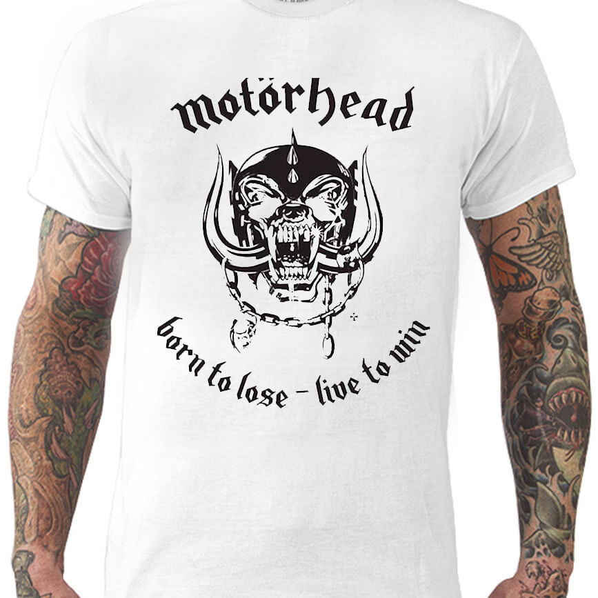 Camiseta MOTÖRHEAD – Born to Lose – Live to Win