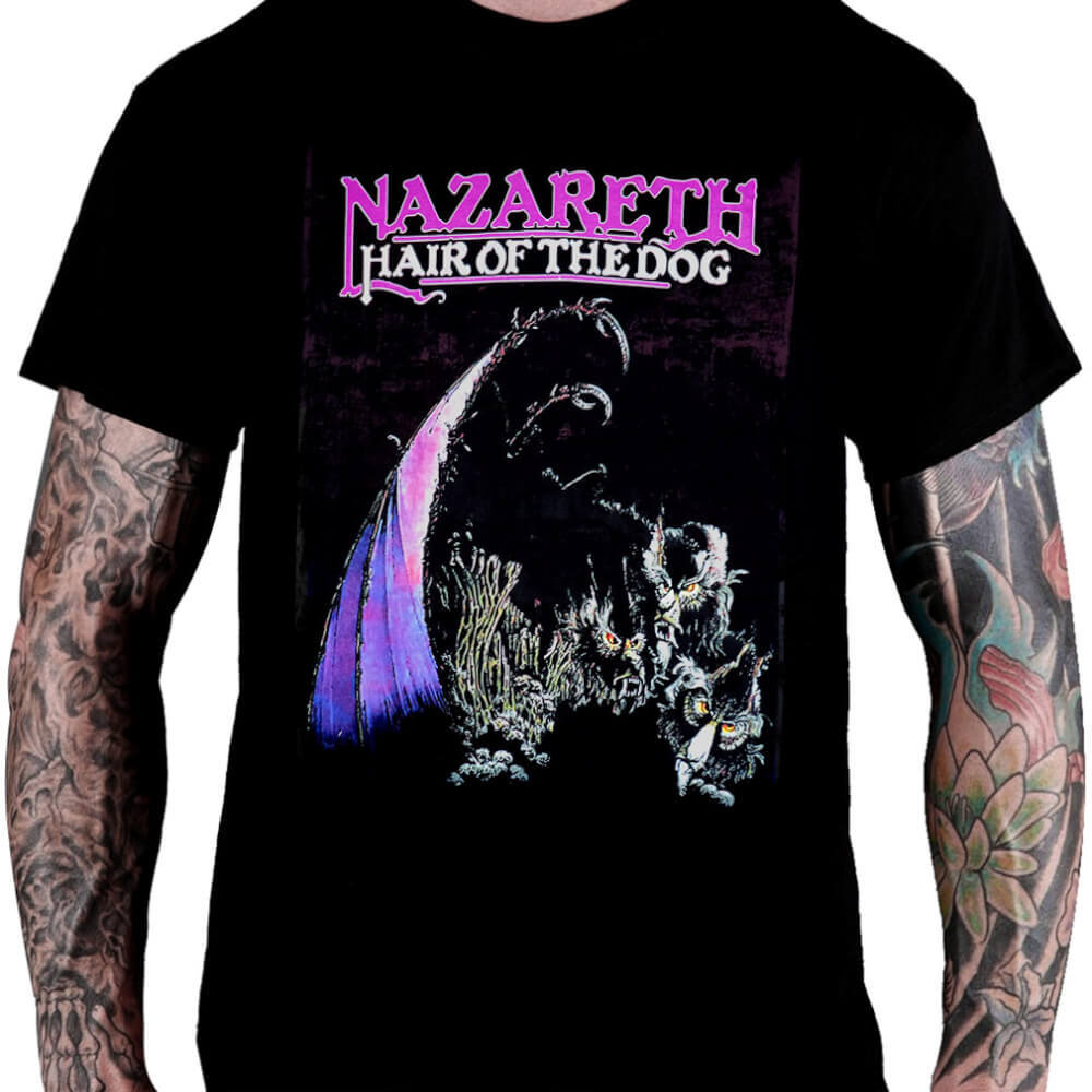 Camiseta Nazareth Hair Of The Dog
