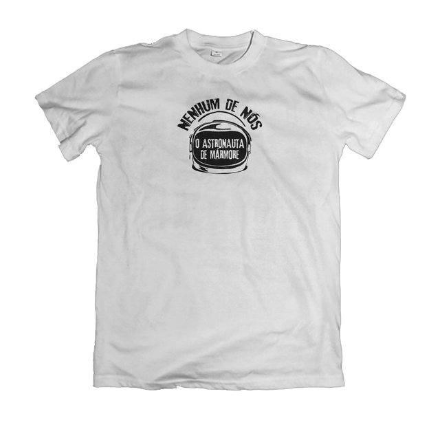 Camiseta Nenhum de Nós Astronauta de Mármore - eFull Camisetas