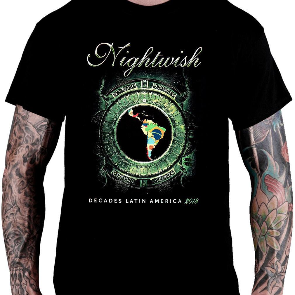 Camiseta NIGHTWISH – Decades Latin America Tour!
