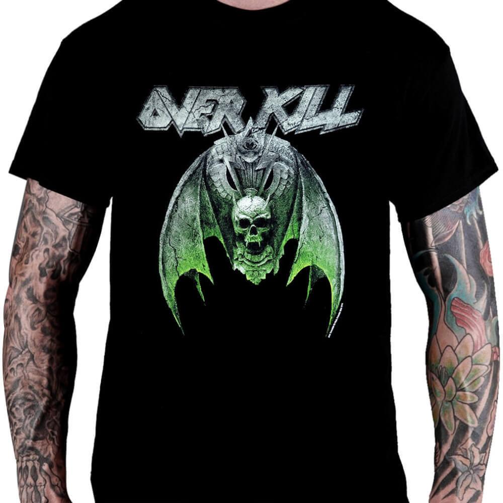 CamisetaOverkill White Devil Armory - Consulado do Rock