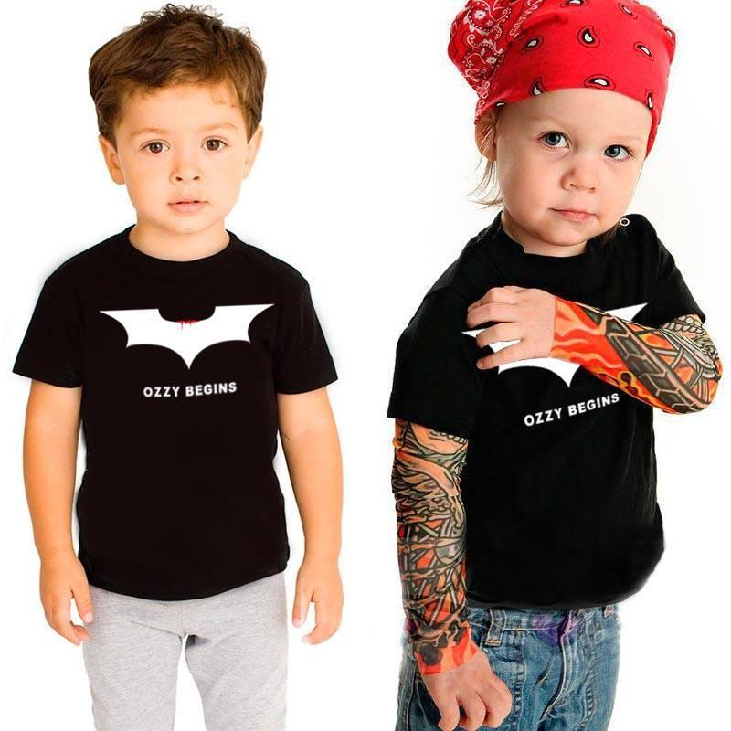 Camiseta infantil Ozzy Begins