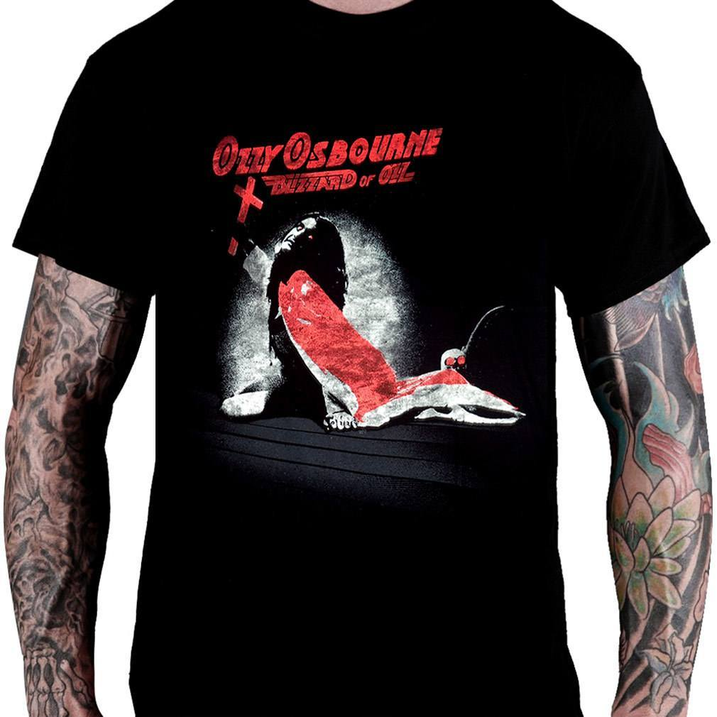 CamisetaOzzy Osbourne Blizzard of Ozz - Consulado do Rock