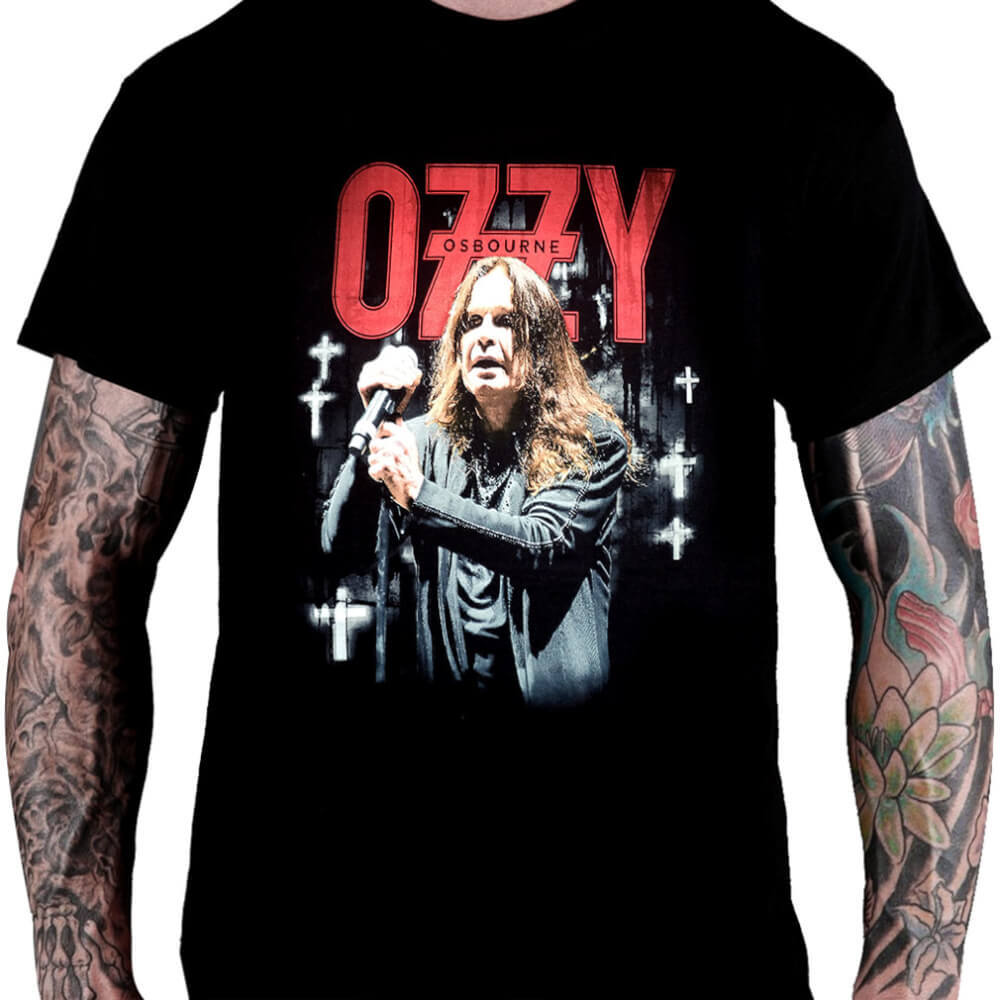 Camiseta OZZY OSBOURNE – Farewell World Tour