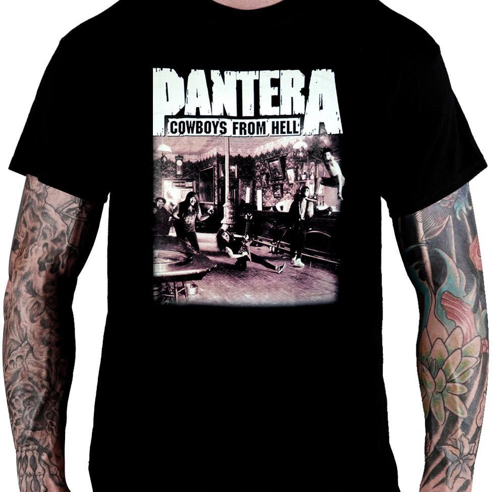 CamisetaPANTERA -Cowboys from Hell