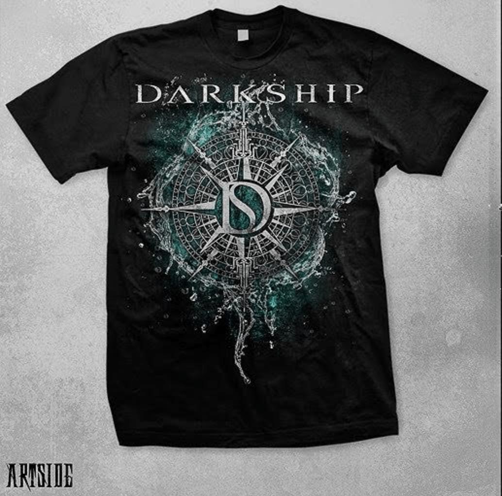 Camiseta Preta Unissex Darkship