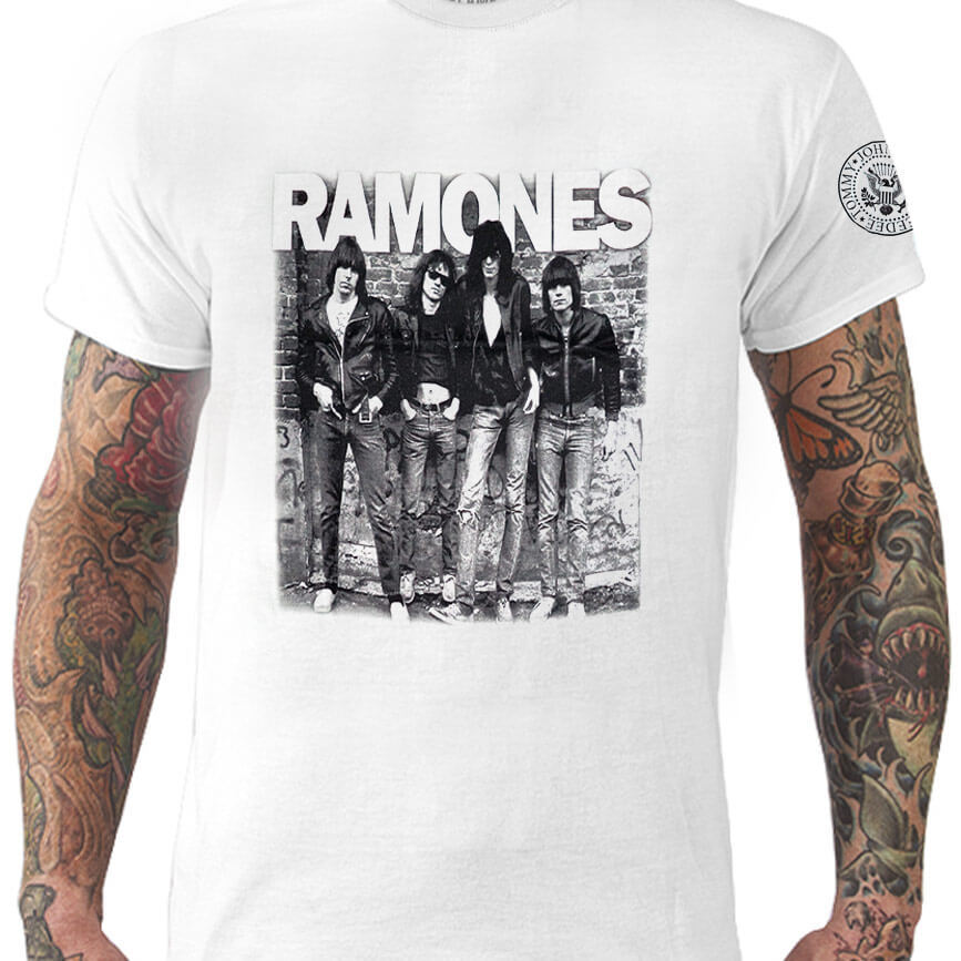 Camiseta Ramones - banda