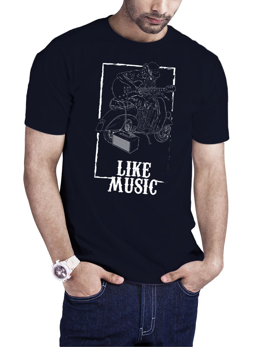 Camiseta Like Music