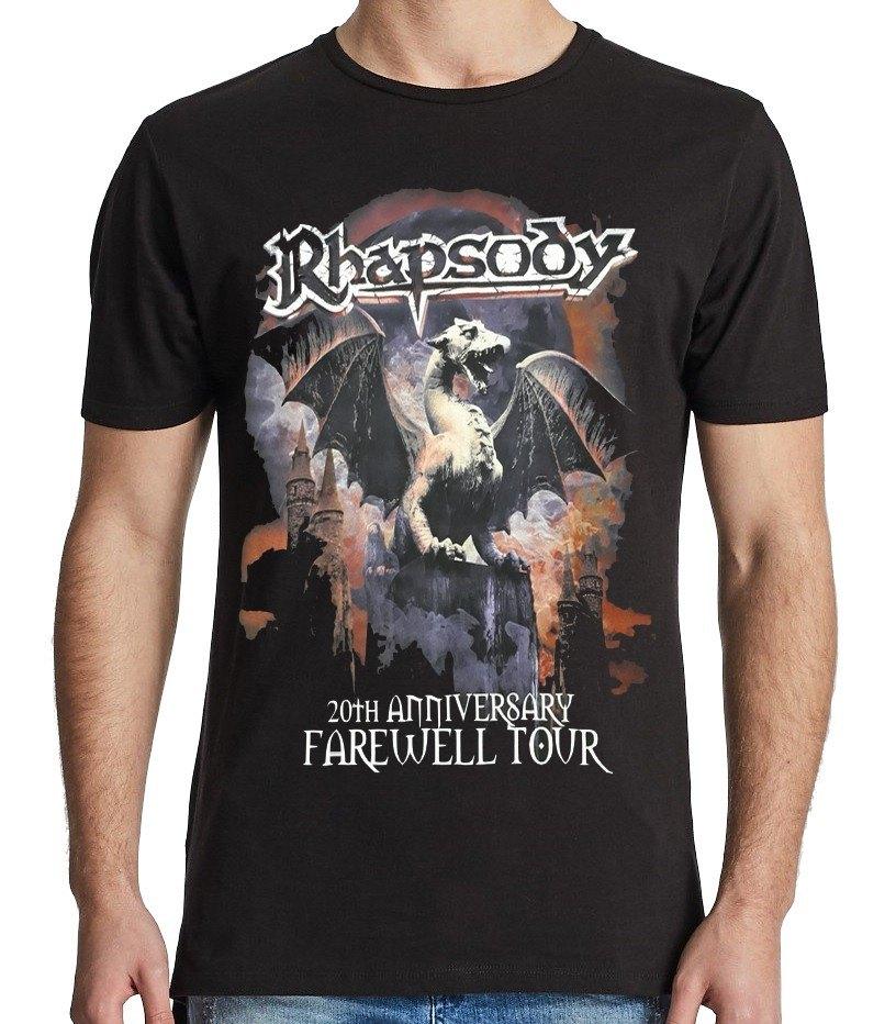 Camiseta Rhapsody of Fire - Farewell Tour