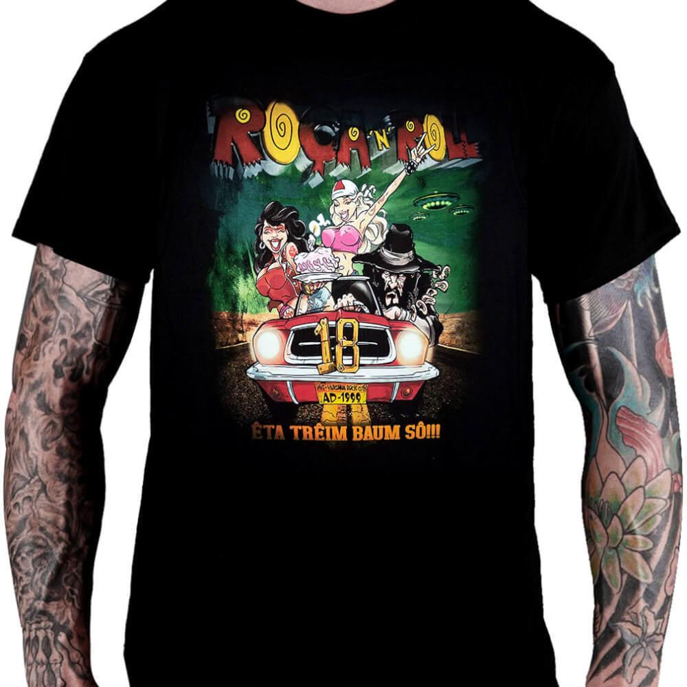 CamisetaRoça n' Roll Festival 2016 - Consulado do Rock