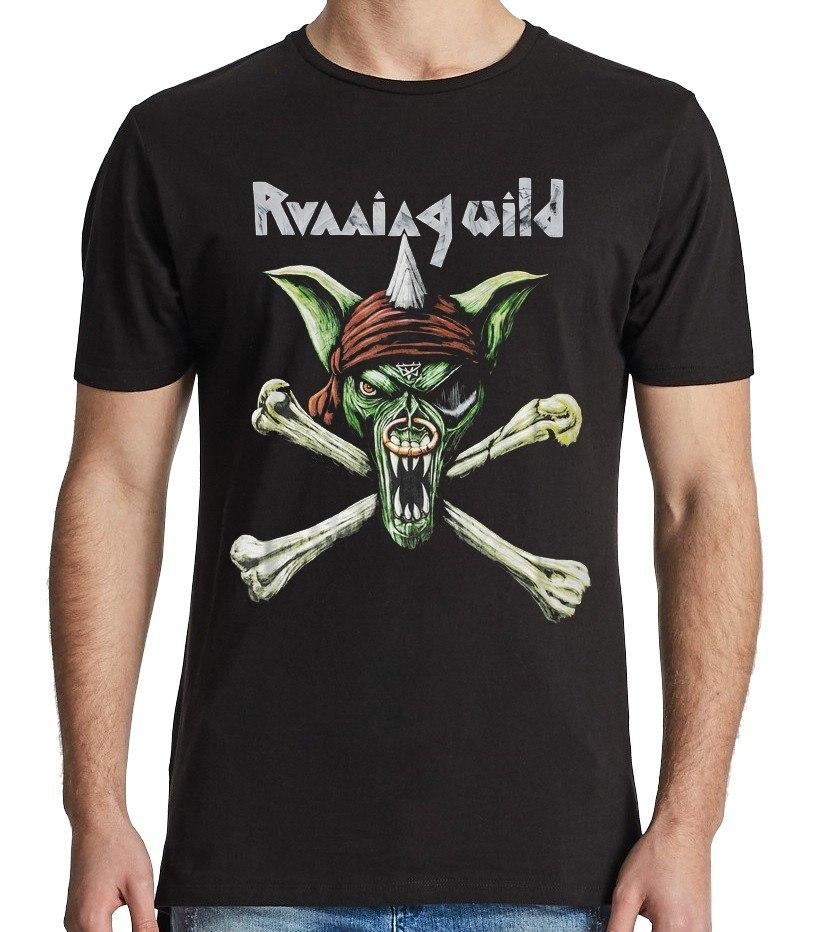 Camiseta Running Wild Banda Alemã