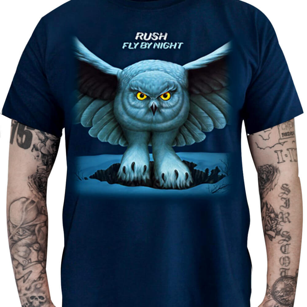 Camiseta Rush - Fly By Night