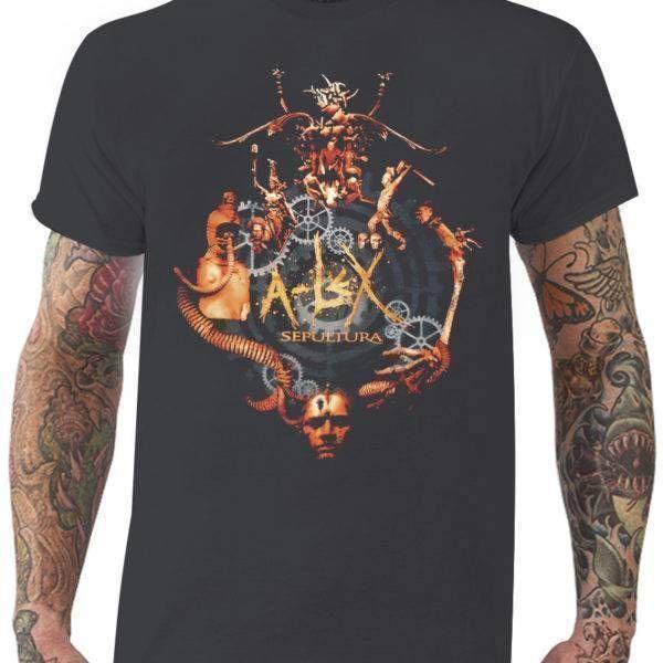 CamisetaSepultura – A-lex