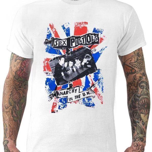 CamisetaSex Pistols – Anarchy in the U.K.