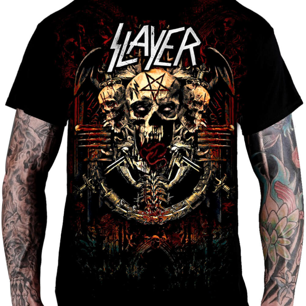 Camiseta Slayer - Final Tour