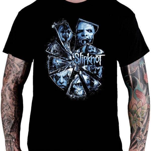 CamisetaSlipknot – Broken Glass