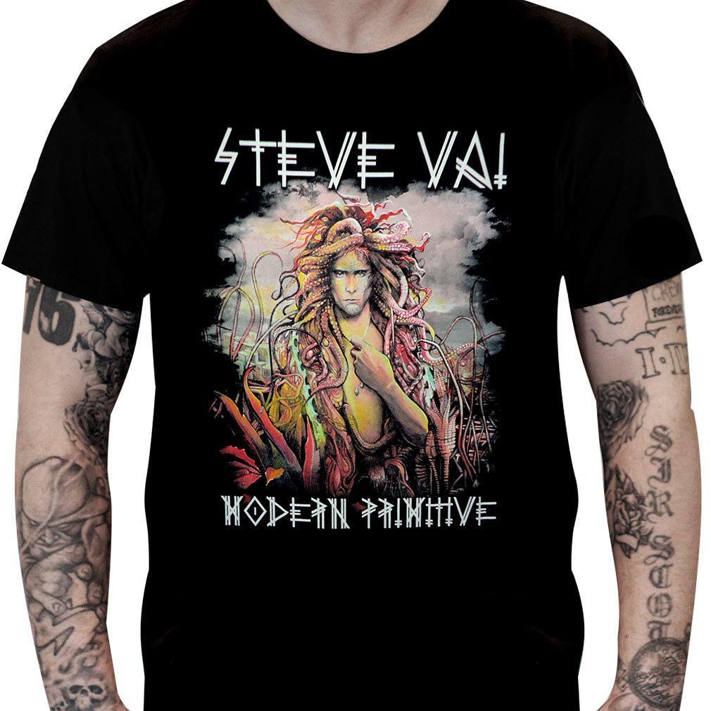 CamisetaSteve Vai Modern Primitive - Consulado do Rock