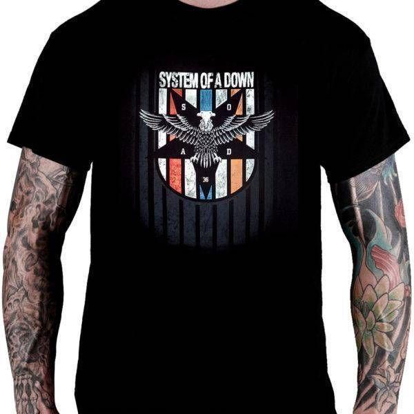 CamisetaSystem Of A Down – Eagle