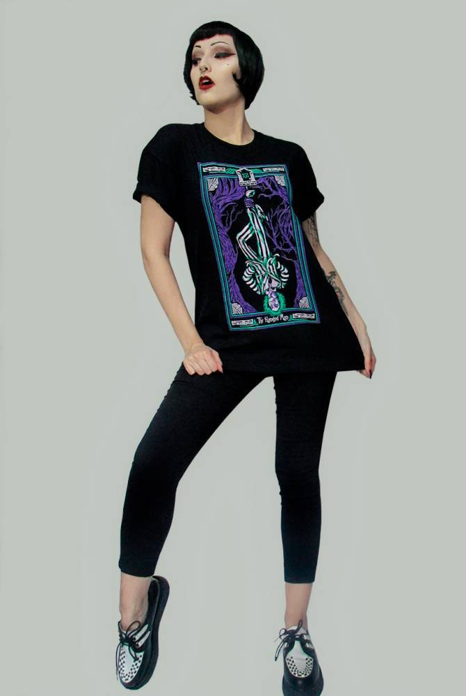 Camiseta Tarot The Hanged Man