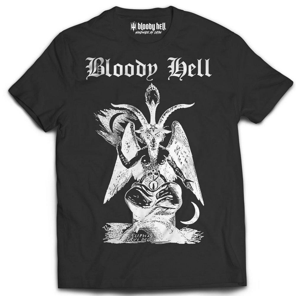 Camiseta Tee Baphomet - Bloody Hell Wear