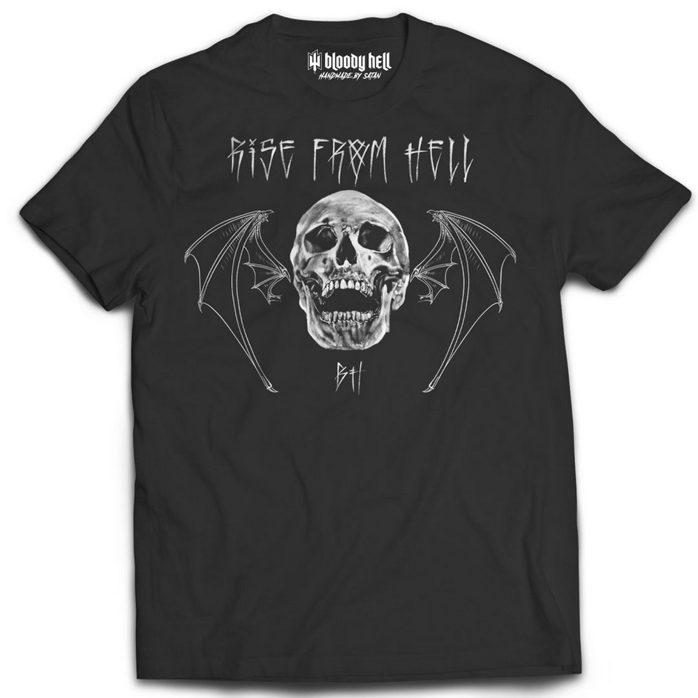 Camiseta Tee Rise From Hell - Bloody Hell Wear