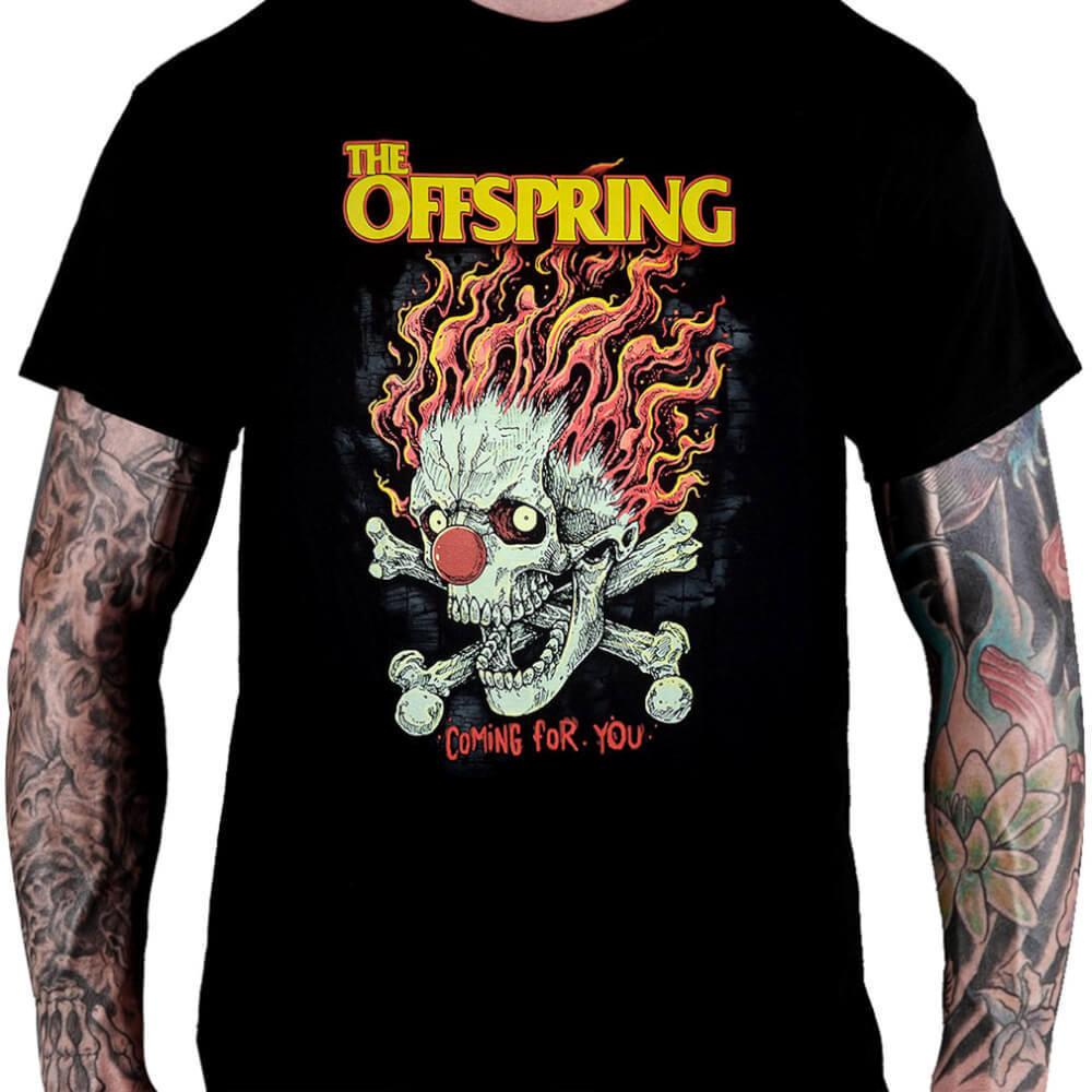 CamisetaThe Offspring Coming for You - Consulado do Rock