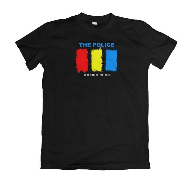 Camiseta The Police Every Breath you Take - eFull Camisetas