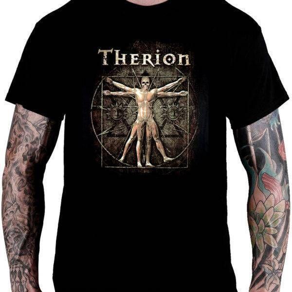 CamisetaTherion –Tour (The Vitruvian Man)