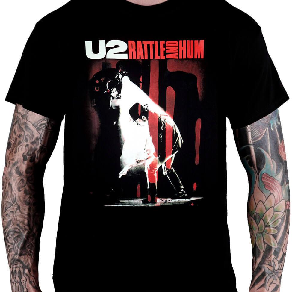 Camiseta U2 Rattle and Hum - Consulado do Rock