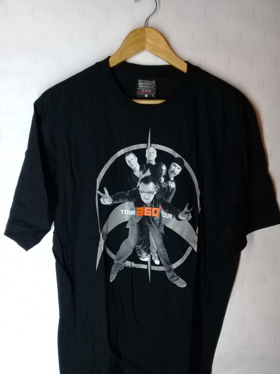 Camiseta Masculina U2  Tour 360