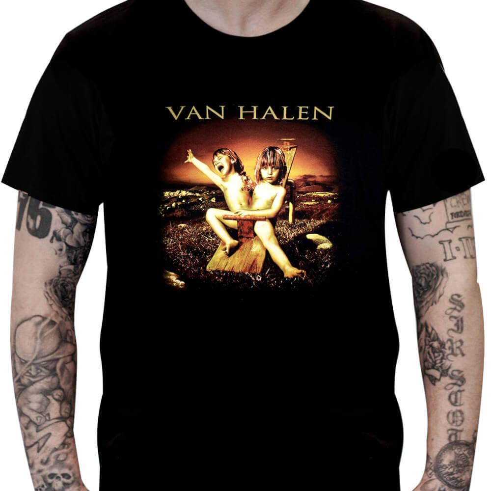CamisetaVan Halen Balance - Stamp